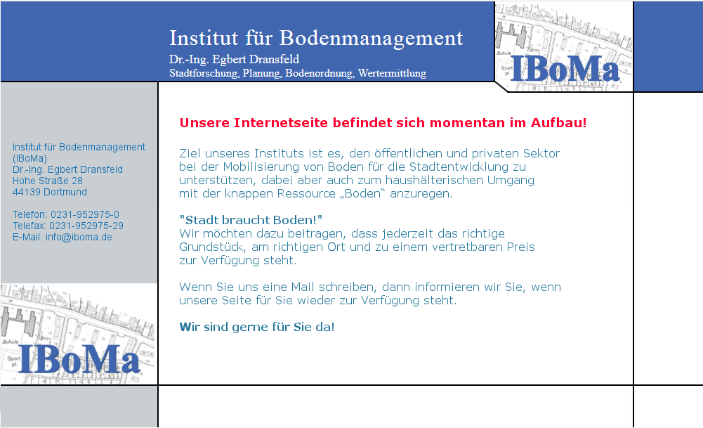 iBOMA Institut für Bodenmanagement